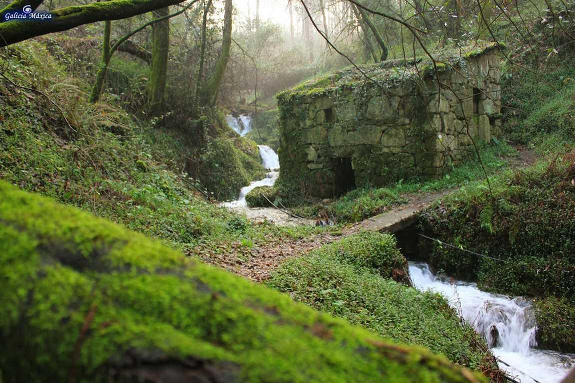 Muiños do Rego do Canudo - Frades  | GALICIA MAXICA