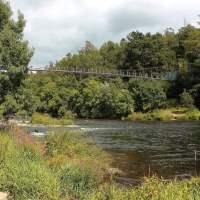 O Xirimbao, área de recreo y puente colgante | GALICIA MÁXICA