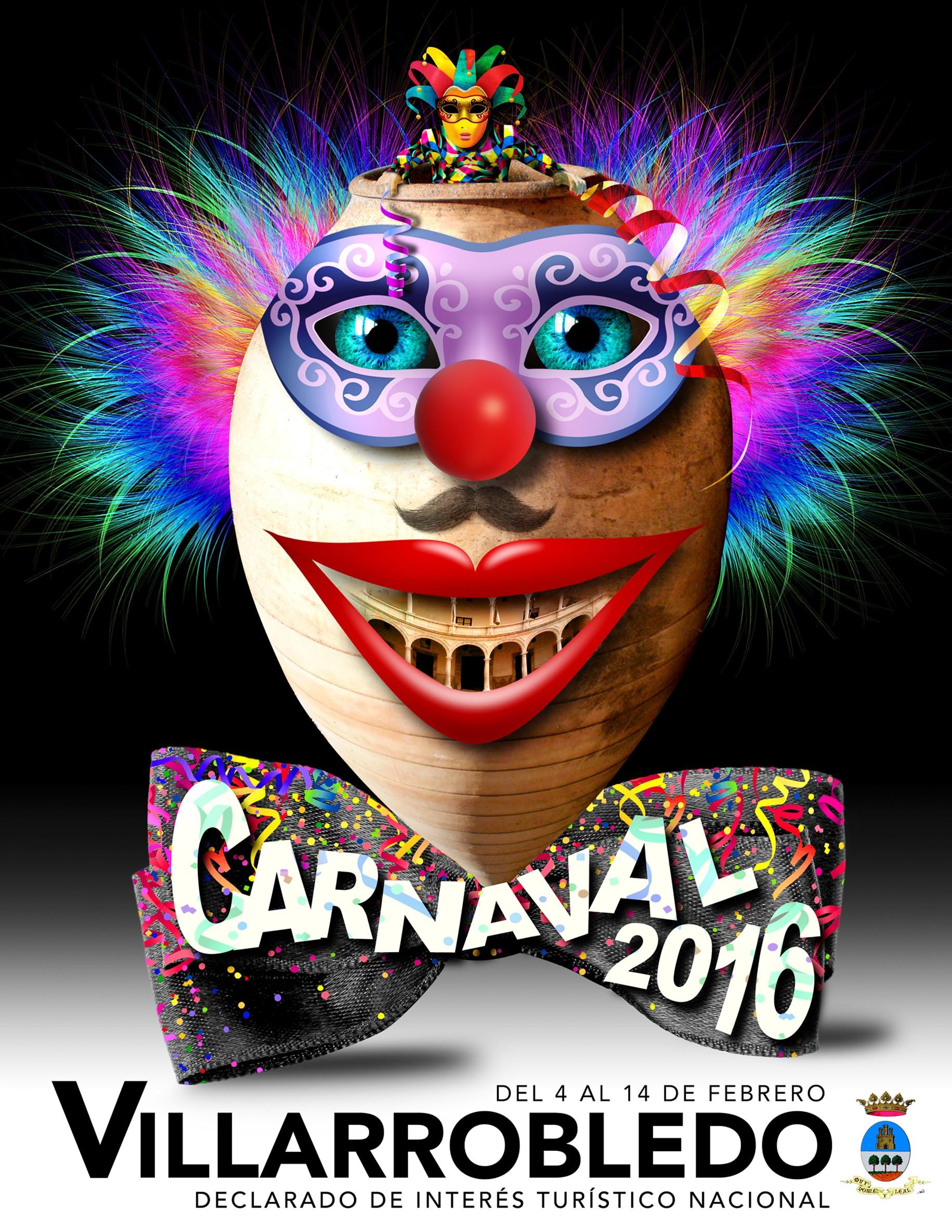 carnaval villarrobledo CARTEL
