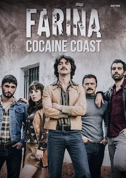 Fariña (cocaine coast) Netflix serie in Galicië