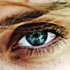 Occhi bionici con i pannelli solari