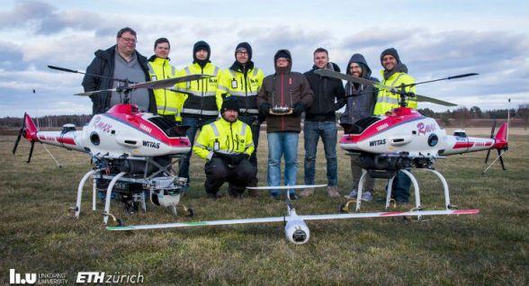 Sherpa, i droni per i soccorsi in alta quota