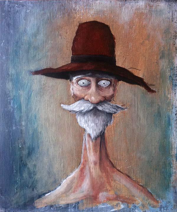 le vieux au chapeau