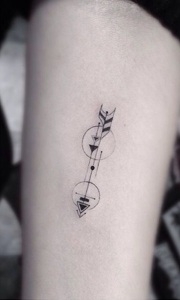 Fishing Pole And Line Tattoo