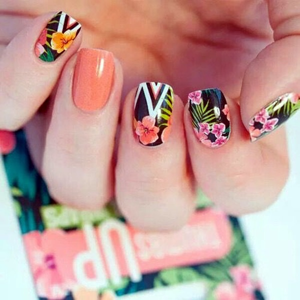 101 Cute Flower Nail Designs That Re Too Attractive To Handle 20 Simple Easy Spring Nails Art
