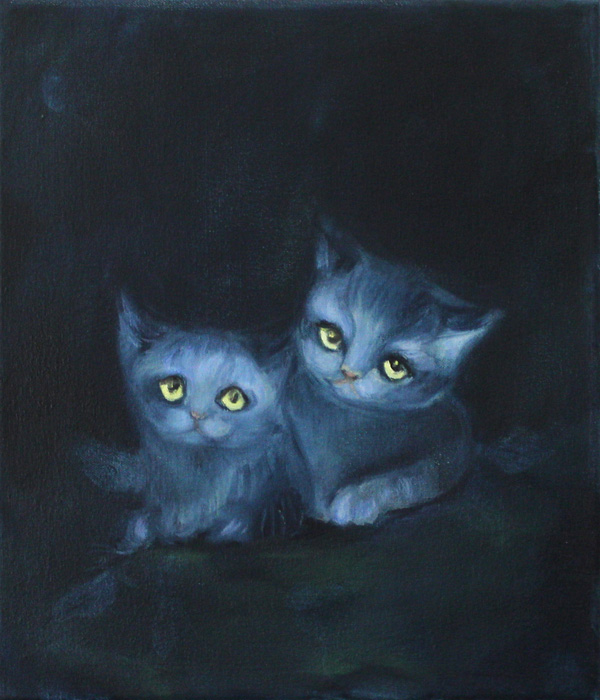Camilla Mihkelsoo: The kittens
