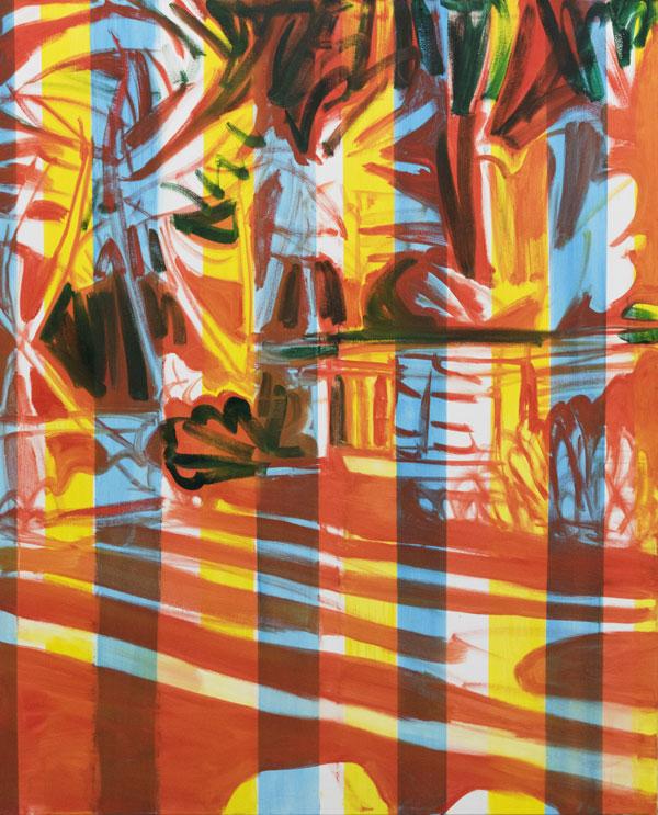 Noora Nio-Juss: Dream 2, 2017, oil on canvas, 160x130 cm