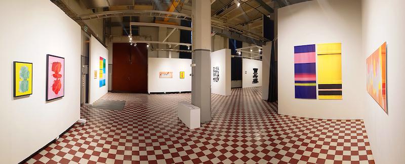 Kira Leskinen: Meledo, yleiskuva  näyttelystä