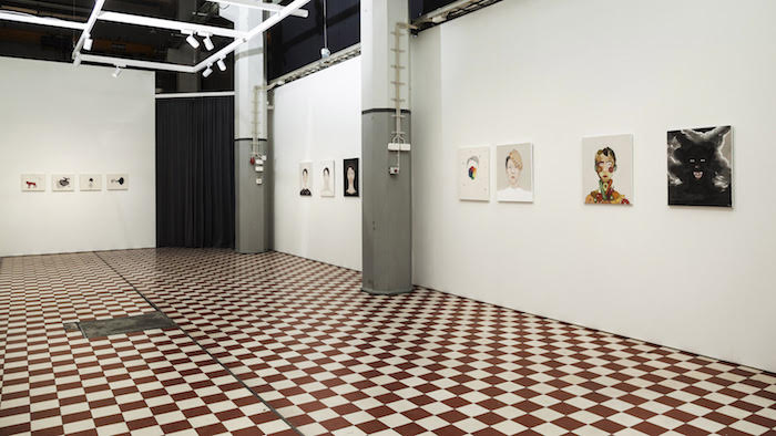Päivi Eskelinen, Galleria Huuto 2021. Photograph Jouko Vatanen