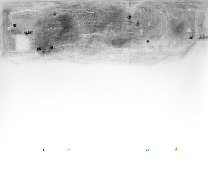 Piia Kokkarinen: Hiertymä, 136 x 150 cm