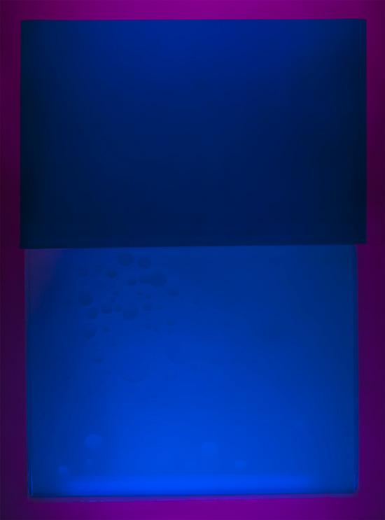 Sampo Malin: Syvät siniset, valokuvadokumentaatio, 100x135cm, 2018