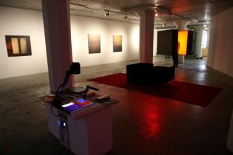 Sampo Malin, Näyttelykuva, yleiskuva näyttelystä