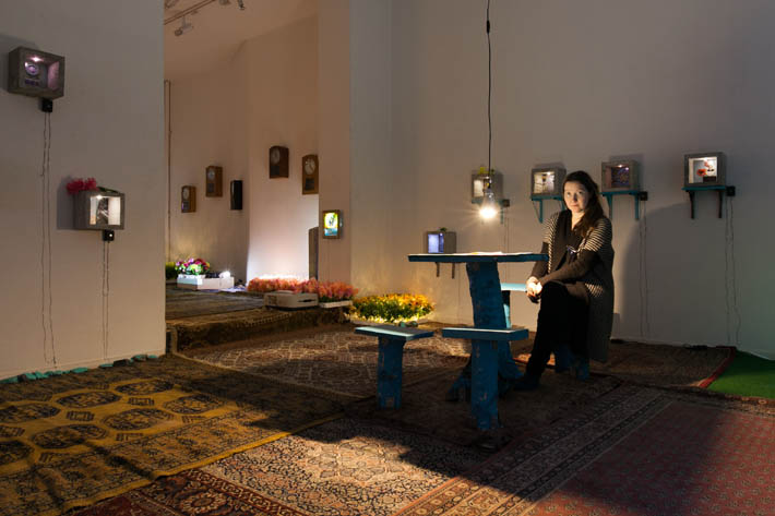 Heidi Elisabeth Hänninen, Surullisten piknik, kuva Satu Palander
