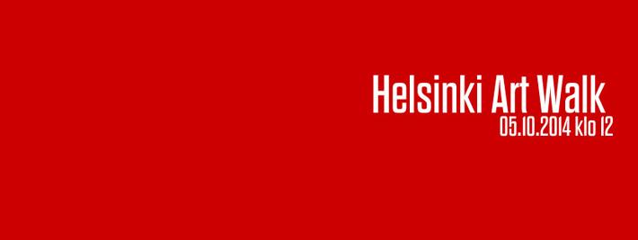 Helsinki Art Walk 5.10.2014