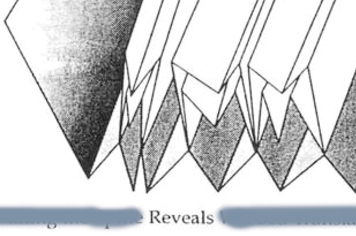 Milla Toukkari: Fold– fold– / –ing –ing (Las– las– / –kos –kos)