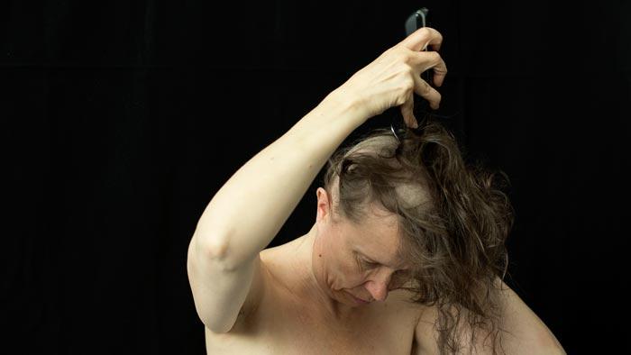 Paula Tella: Gender studies (video, 2017) Kuva: Jaakko Ruuska