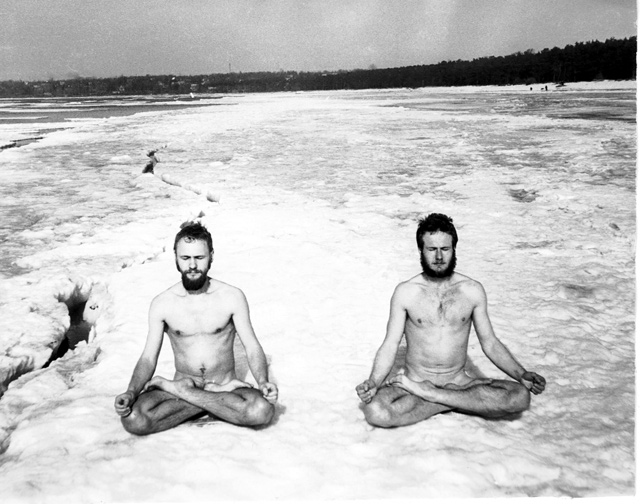 Soviet Hippies, Snow Meditation