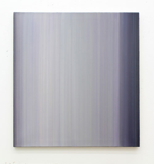 Tuomo Laakso: Verho 2, öljy kankaalle 75cm x 71cm, 2017
