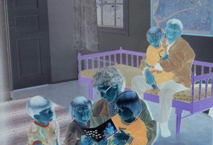 Eero Yrjölä: Room with a lavender bed, 2020