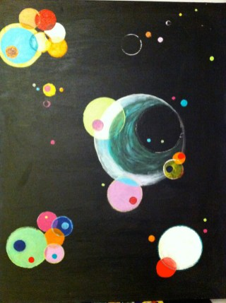 Cosmic Candy - 24 x 30 inches