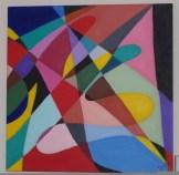 Vortex I - Acrylic 20 x 20 inches