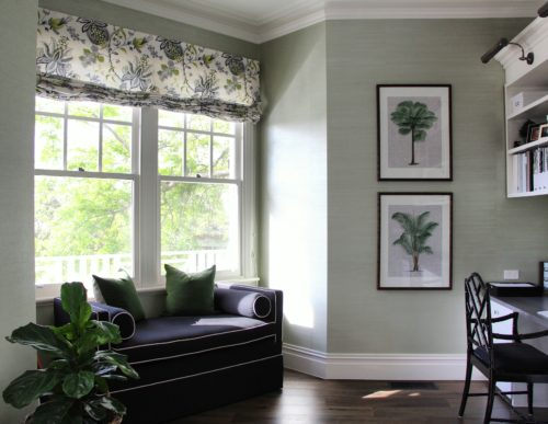 Featuring Some Of My Favourite Rooms That Have Grasscloth Wallpaper