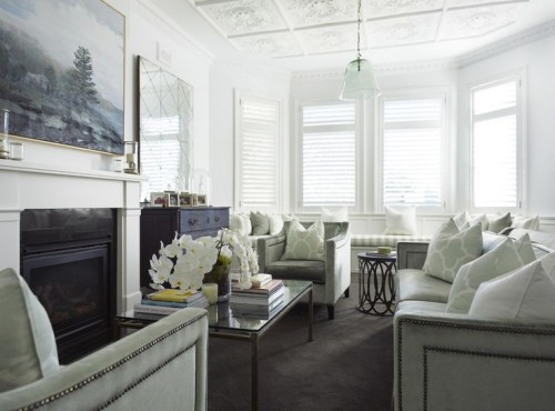 Friday's Favourites, elegant sitting room. Gallerie B