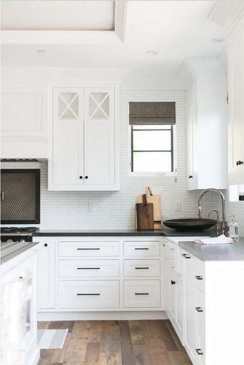 Kitchen Cabinet Decision: Glass or Solid Doors? Gallerie B blog