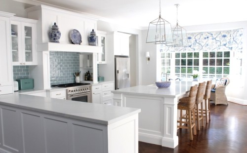 Classic Hamptons style kitchen. Friday's Favourites, Gallerie B blog