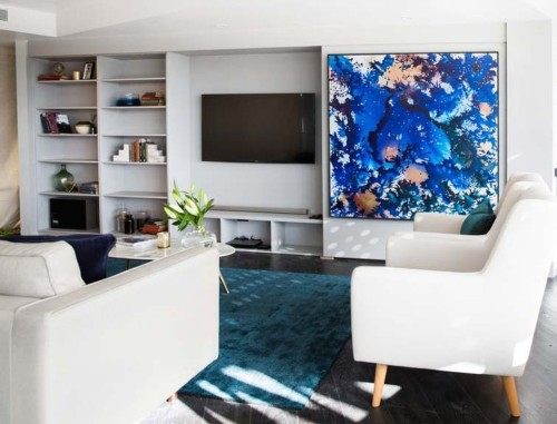 Tips to disguise your flat screen TV