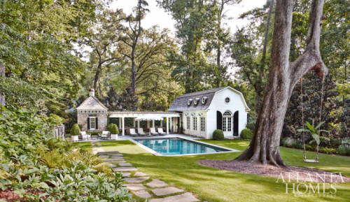 Stone poolhouse. Friday's Favourites, Gallerie B blog.