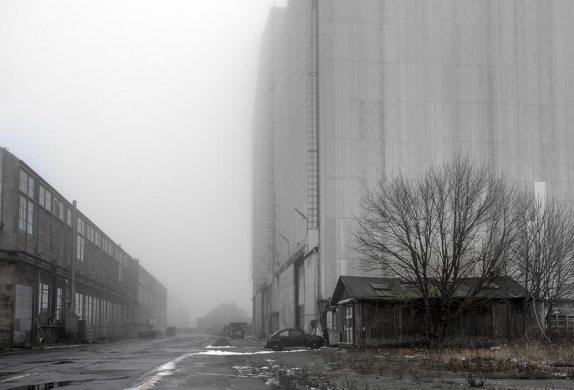 Refshaleøn, Københan, WV, tåge