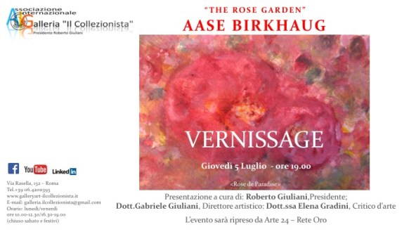 Mostra Personale di Aase Birkhaug