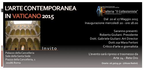 L'Arte Contemporanea in Vaticano 2015