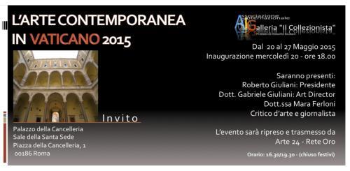 L'Arte Contemporanea in Vaticano 2015