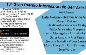 13° Gran Premio Internazionale Dell'Arte 2014