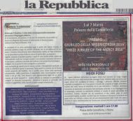 Pagina La Repubblica