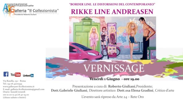 Mostra personale di Rikke Line Andreasen