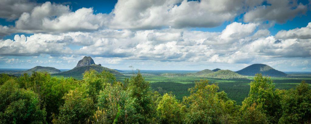 Glass House Mountains Sunshine Coast Queensland