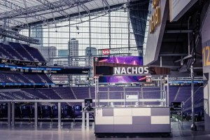Nacho cart in Minneapolis