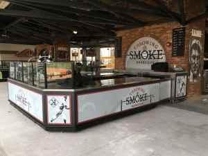 Custom Food And Beverage Kiosks Kiosk Venues Food Beverage Progressive Field Cleveland Ohio 2
