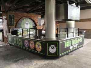 Custom Food And Beverage Kiosks Kiosk Venues Food Beverage Progressive Field Cleveland Ohio 4