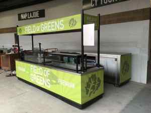 Custom Food And Beverage Kiosks Kiosk Venues Food Beverage Progressive Field Cleveland Ohio 8