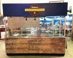 Arena Hot Food Cart MobileCart Venues Food Bankers Life Fieldhouse Indianapolis Indiana 1