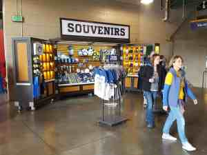 Ball Park Retail Carts Venues Merchandise Miller Park Milwaukee Wisconsin 1