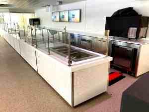 Custom Food Kiosk Mobile Cart Venues Campuses Convention Centers Food HighEnd SoFi Stadium Los Angeles California 2
