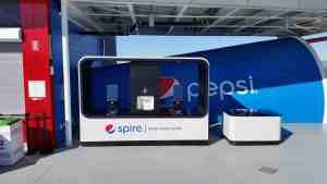 Pepsi Spire Beverage Cart MobileCart Venues Beverage Levi Stadium StantaClara California 4