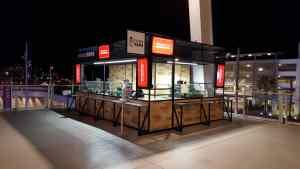 Stadium Concourse Bar Kiosk Venues Beverage Levi Stadium SantaClara California 2