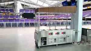 Stadium Food Carts Venues US Bank Stadium Minneapolis Minnesota 6