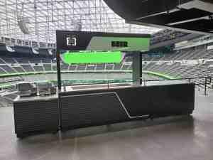 Stadium Mobile Concessions Cart Venues Food Beverage Allegiant Stadium Las Vegas Nevada 1